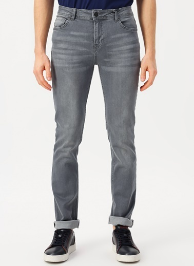 North Of Navy Jean Pantolon Gri